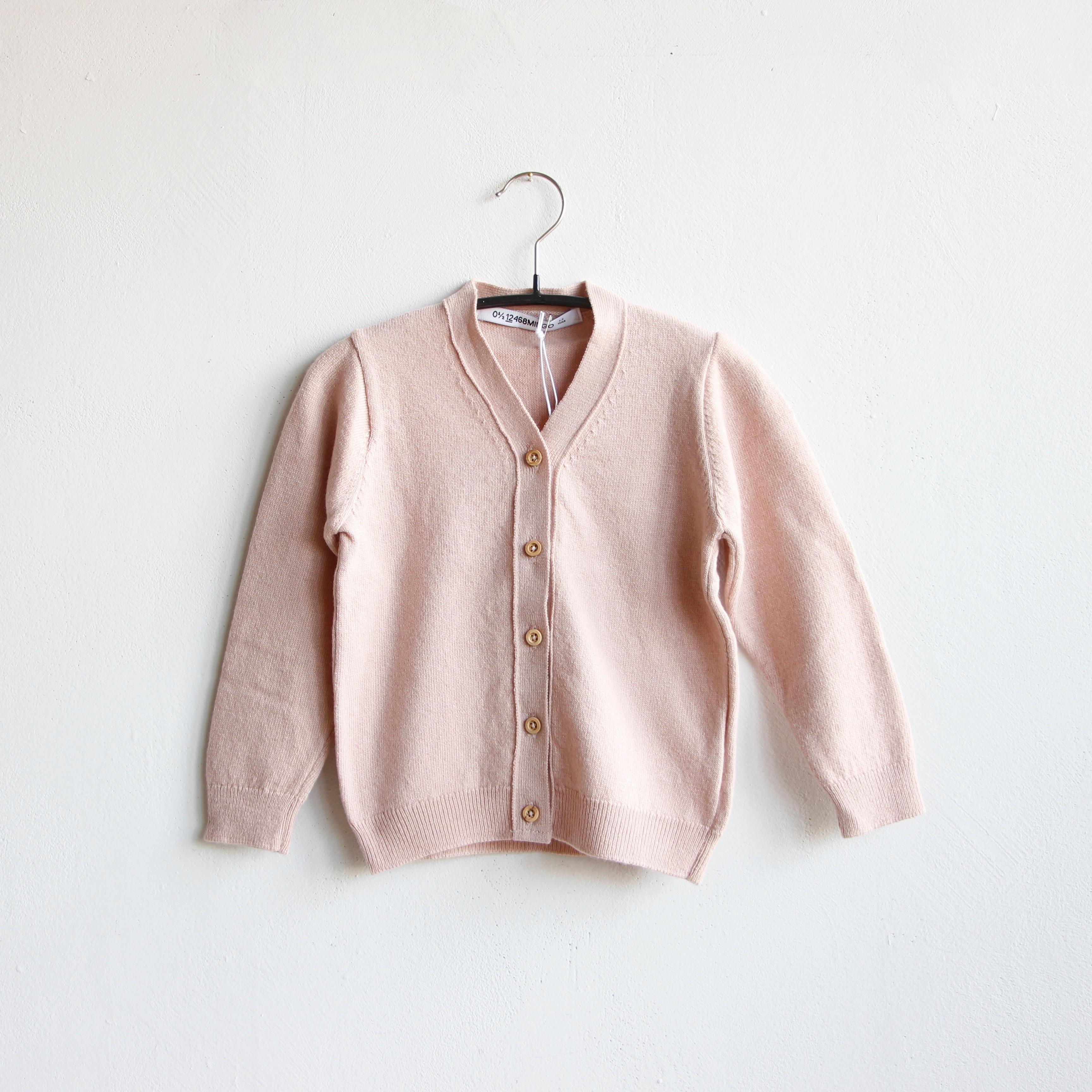 《MINGO. 2020SS》Cardigan / dusty pink