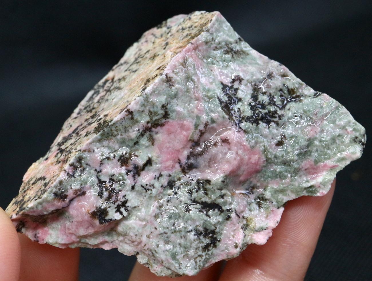 桃簾石 チューライト 53g TLT002  鉱物 天然石 パワーストーン 原石
