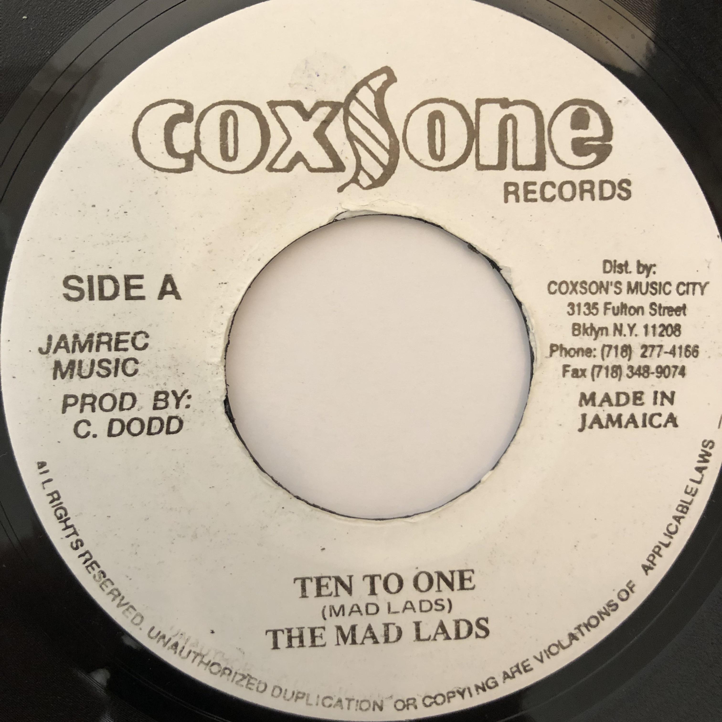 Mad Lads(マッドラッズ) - Ten To One【7-20246】