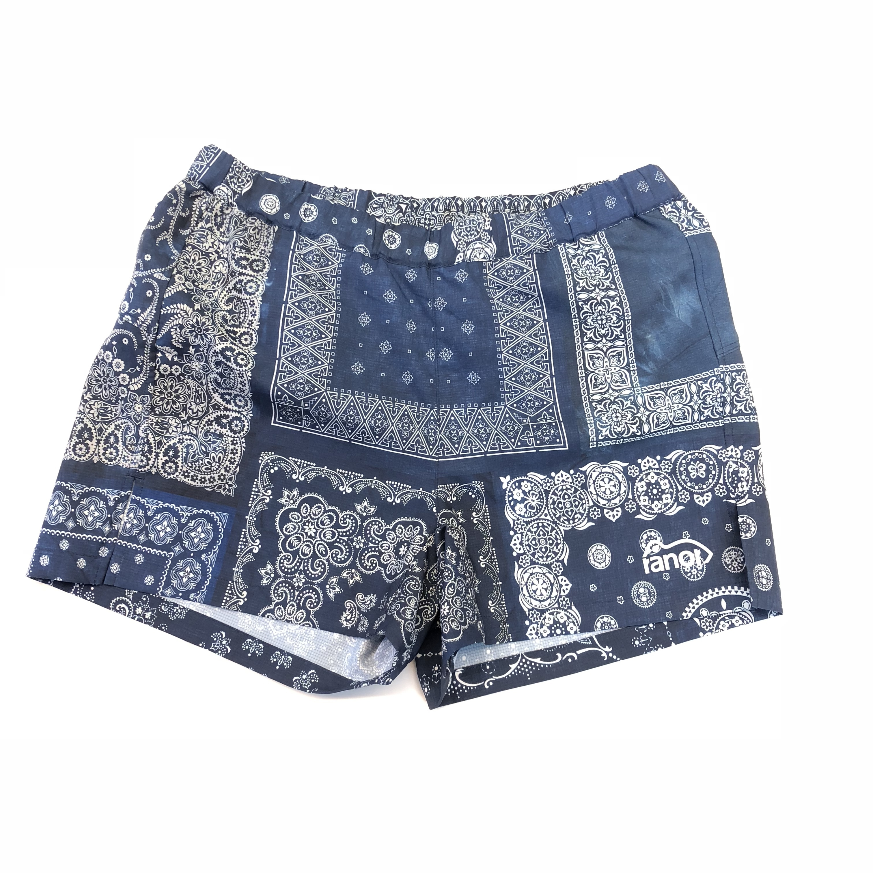 ranor / BANDANA VERY SHORT PANTS Indigo