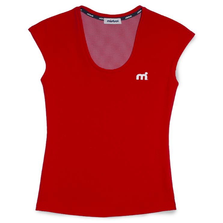 ミストラル ウィメンズ [ HP-DRY フレンチ T -M dot- ] RED