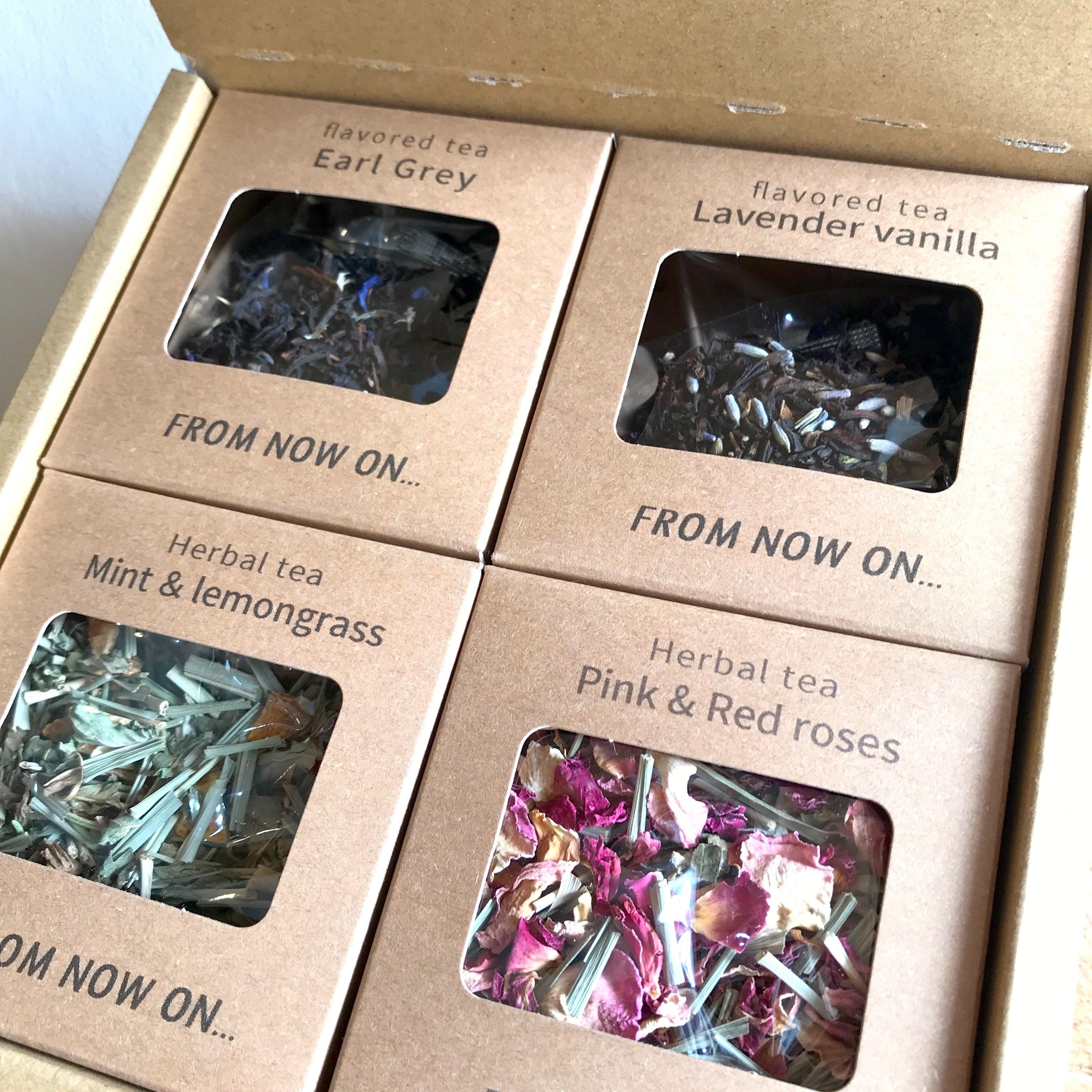 """"""" FNO black tea & herbal tea Gift Set / 紅茶 & ハーブティー ギフトセット(紅茶2種・ハーブティー 2種) """""""