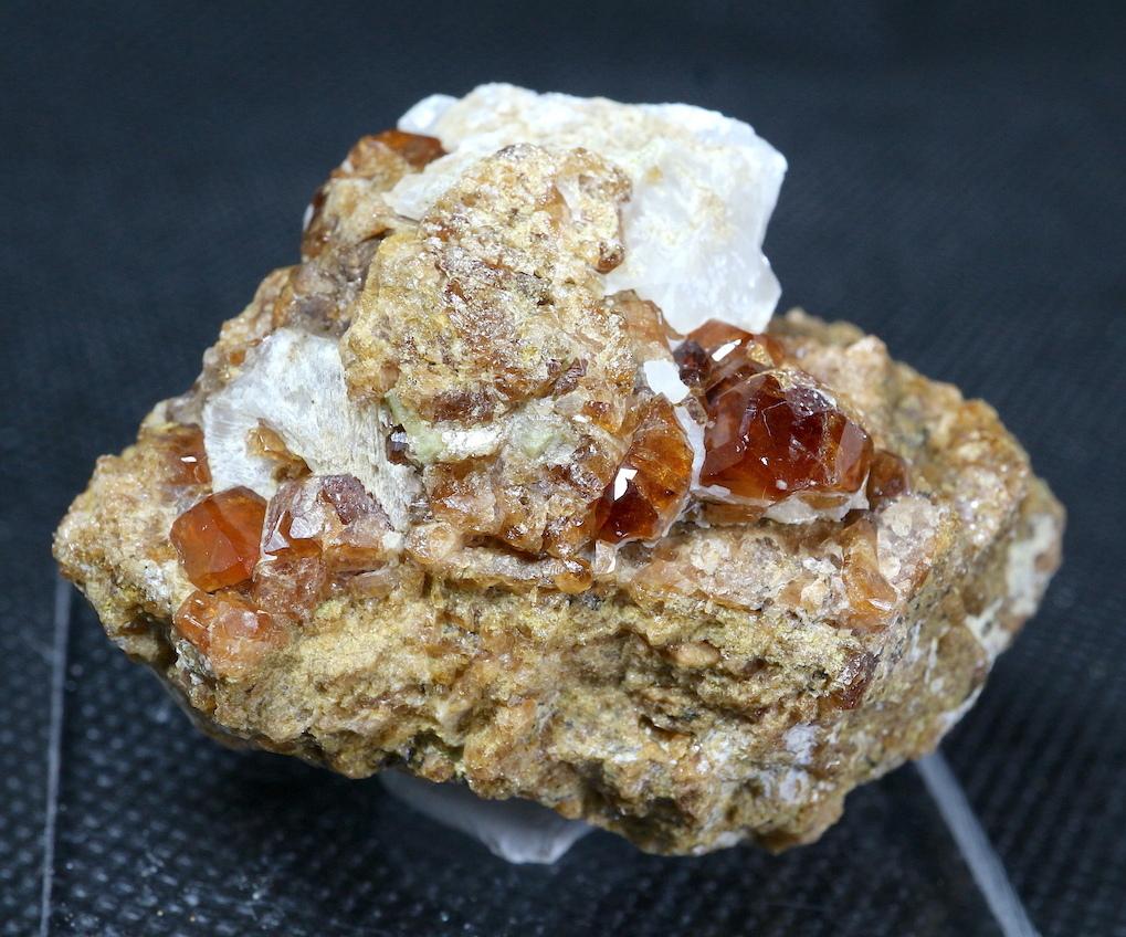 自主採掘!カリフォルニア産 グロッシュラー ガーネット 51,5g GN067 原石 鉱物 天然石 パワーストーン
