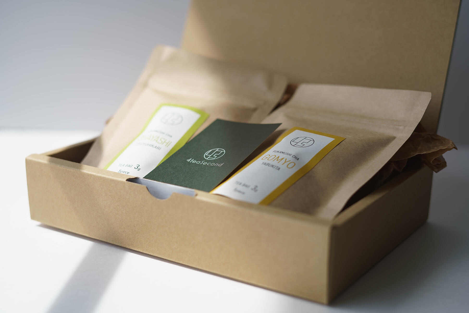 Gift Box 深蒸し茶 コンビ ティーバッグ