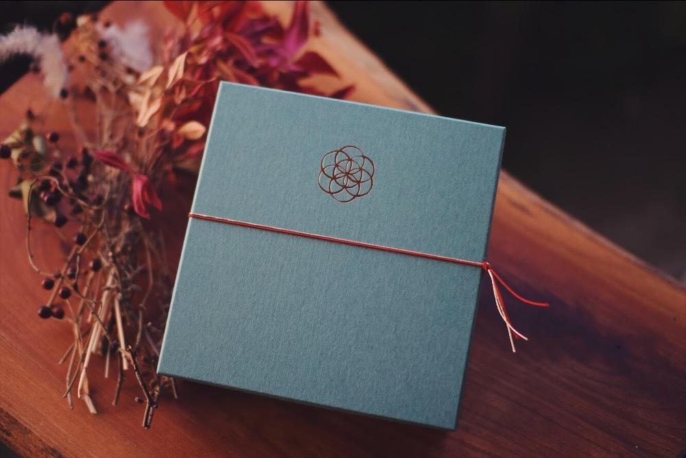 オリジナルギフトボックス - 碧箱 -  (お茶3本サイズ/箱単品)