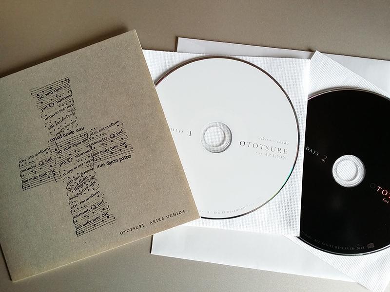 内田輝/Akira Uchida『OTOTSURE』(Baroque Voice)[2CD]