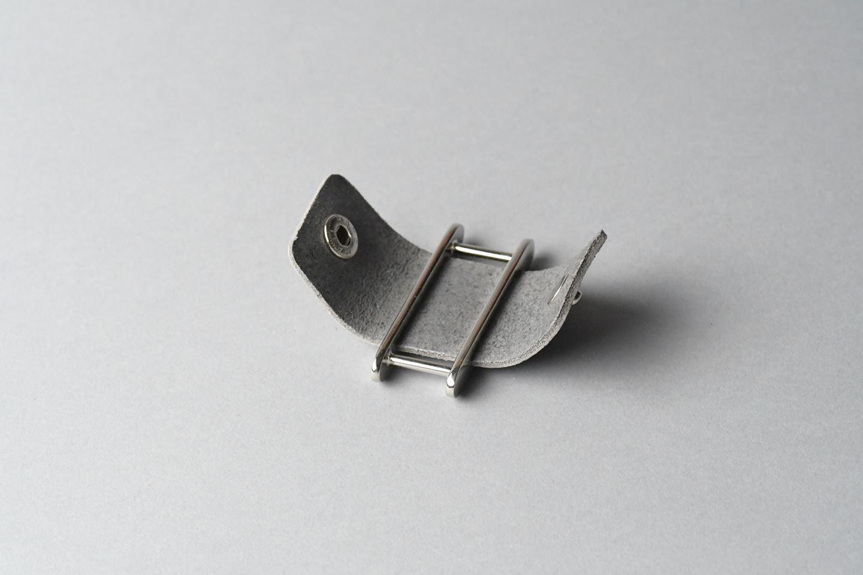 イヤホンコードホルダー □アボカドグリーン□ イタリアンレザー earphone cord holder - 画像2