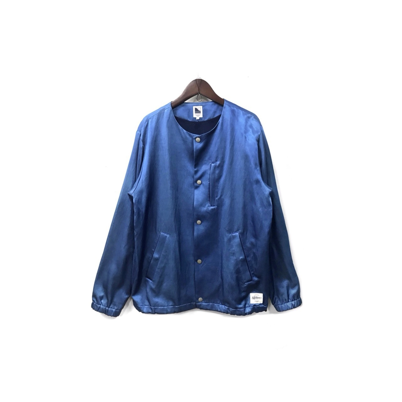 offshore - No Collar Coach Jacket (size - M) ¥15500+tax → ¥13950+tax