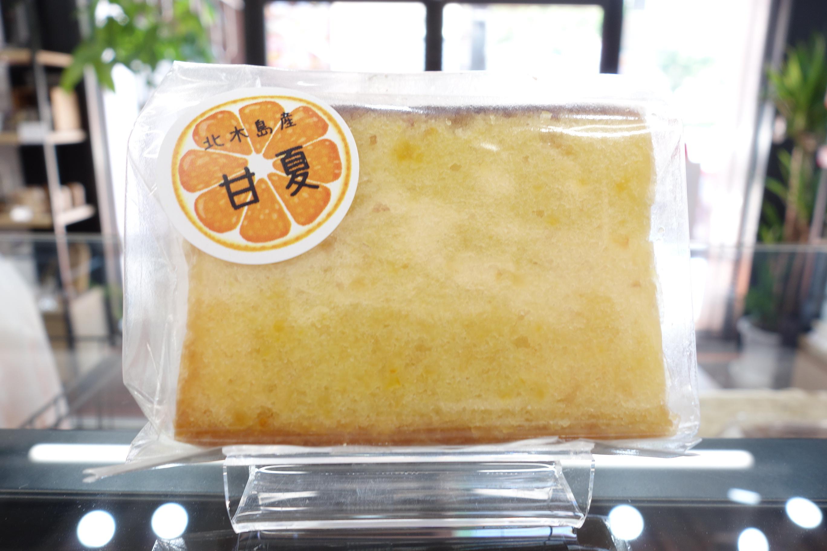 パウンドケーキ(カット)甘夏