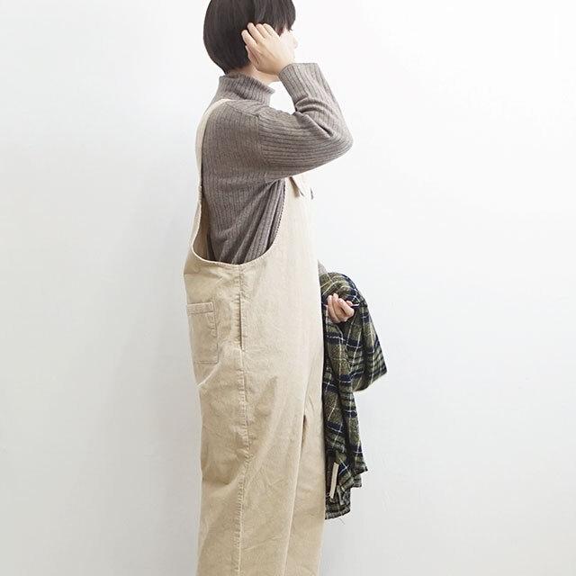 ichi イチ コーデュロイサロペット 【返品交換不可】 (品番190717)