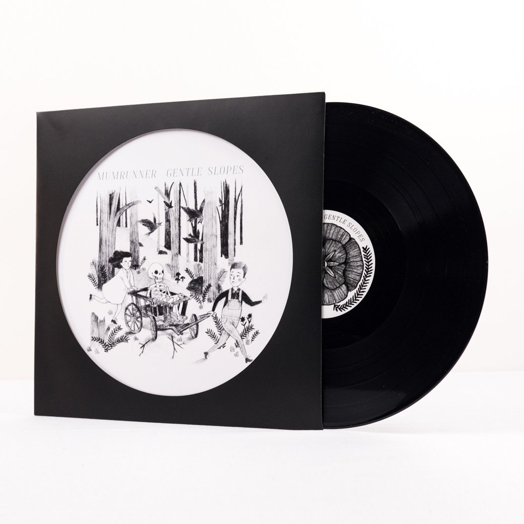 Mumrunner / Gentle Slopes (300 Ltd Black LP with screen-printed)