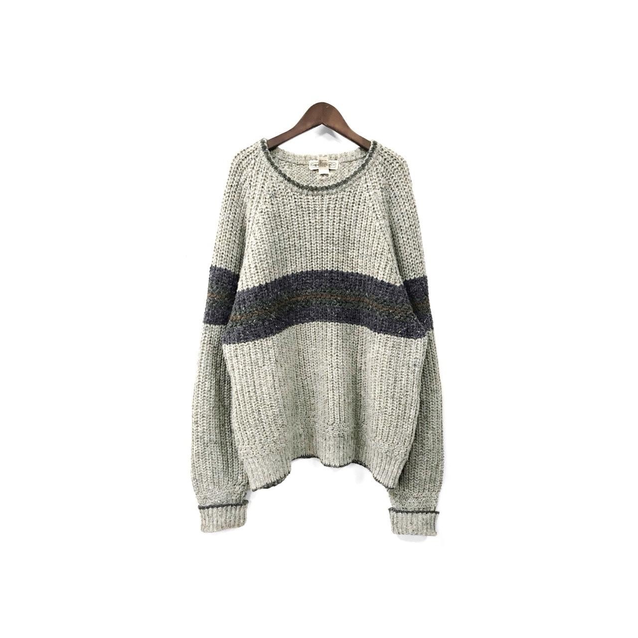 GAP - Ragran Knit Tops (size - XL) ¥6500+tax → ¥5200+tax