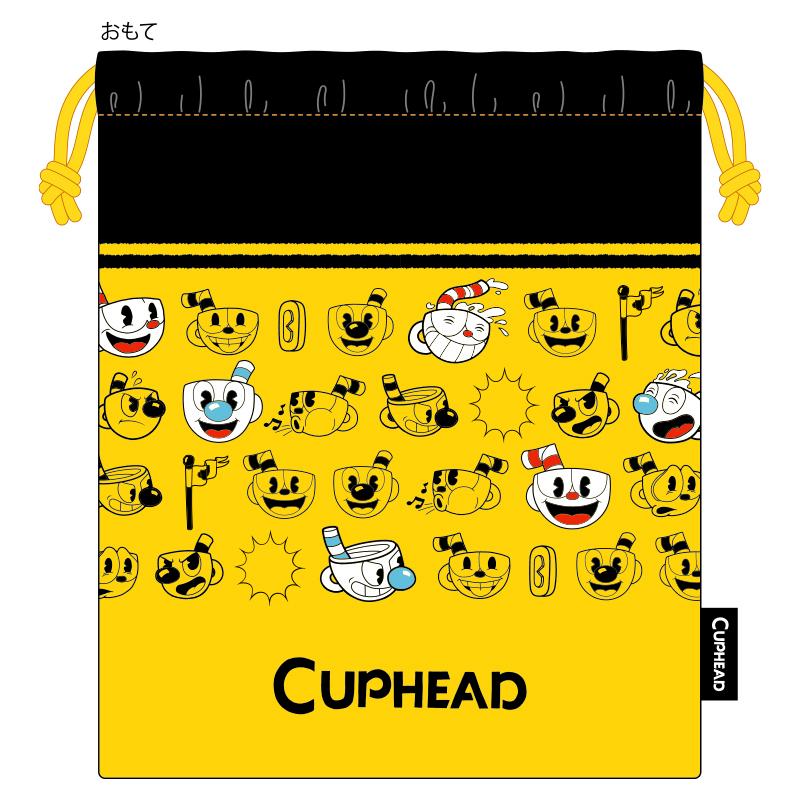 CUPHEAD ( カップヘッド ) 巾着 ① PATTERN  / エンスカイ