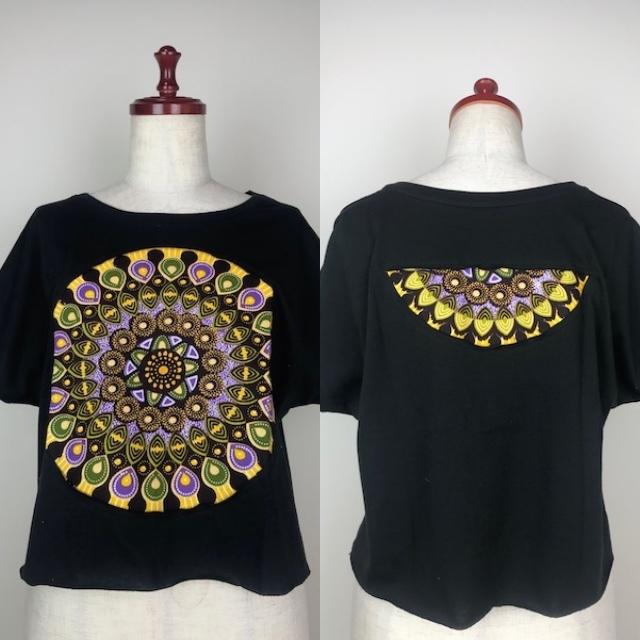 パッチワークドルマンTシャツ11