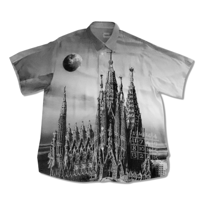 WANNA PARADAIGM SHIFT Short Sleeve Shirts BLACK