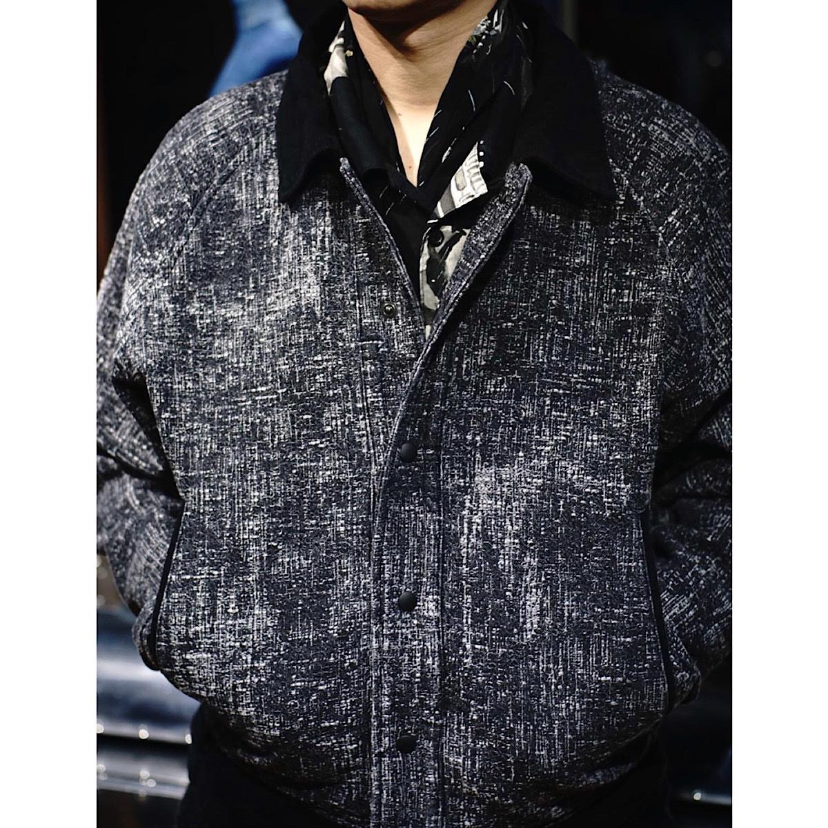 【2019ver.】PEELED CLOTH VARSITY JACKET