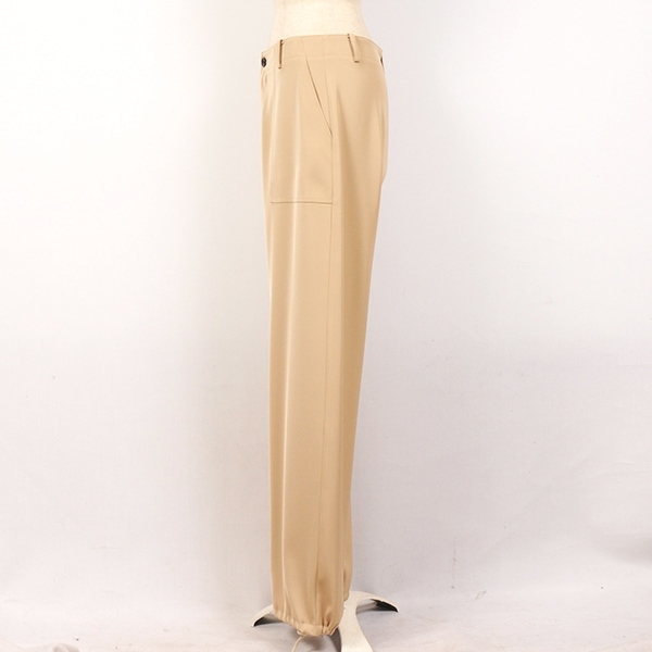 df17WT-06 WORK WIDE SLACKS (beige)