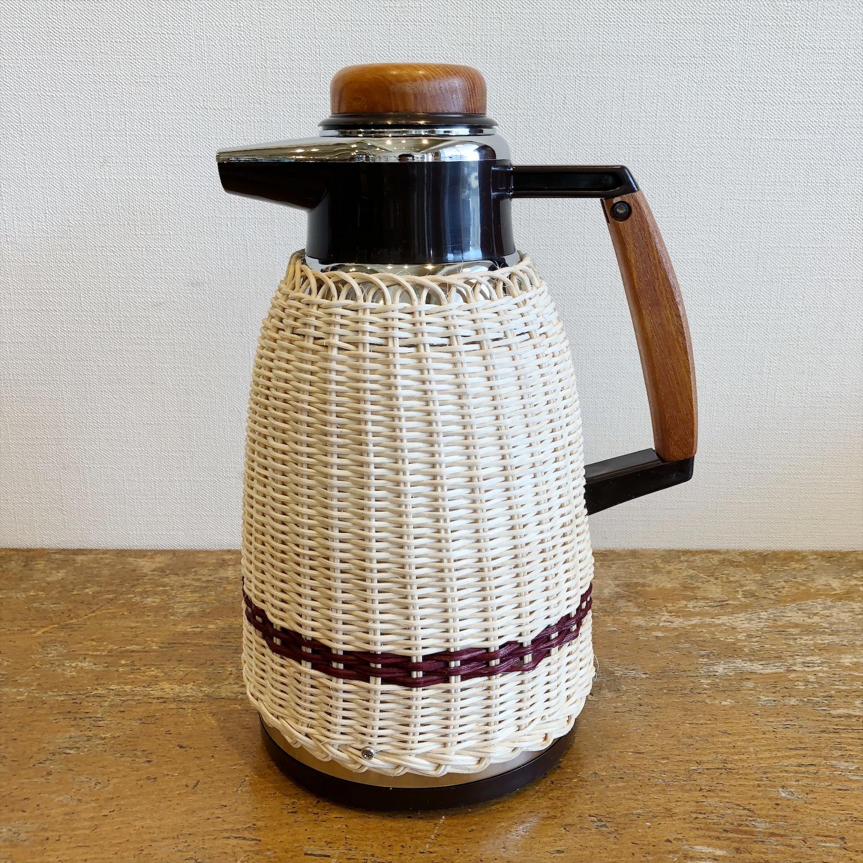 ヨット藤編み魔法瓶