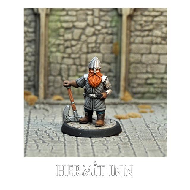 ドワーフの傭兵/戦士 - 画像1