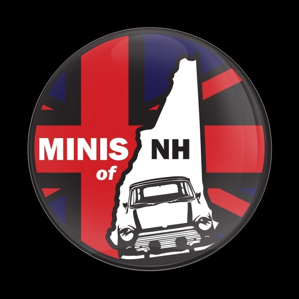 ゴーバッジ(ドーム)(CD0880 - CLUB MINIS of NH) - 画像1