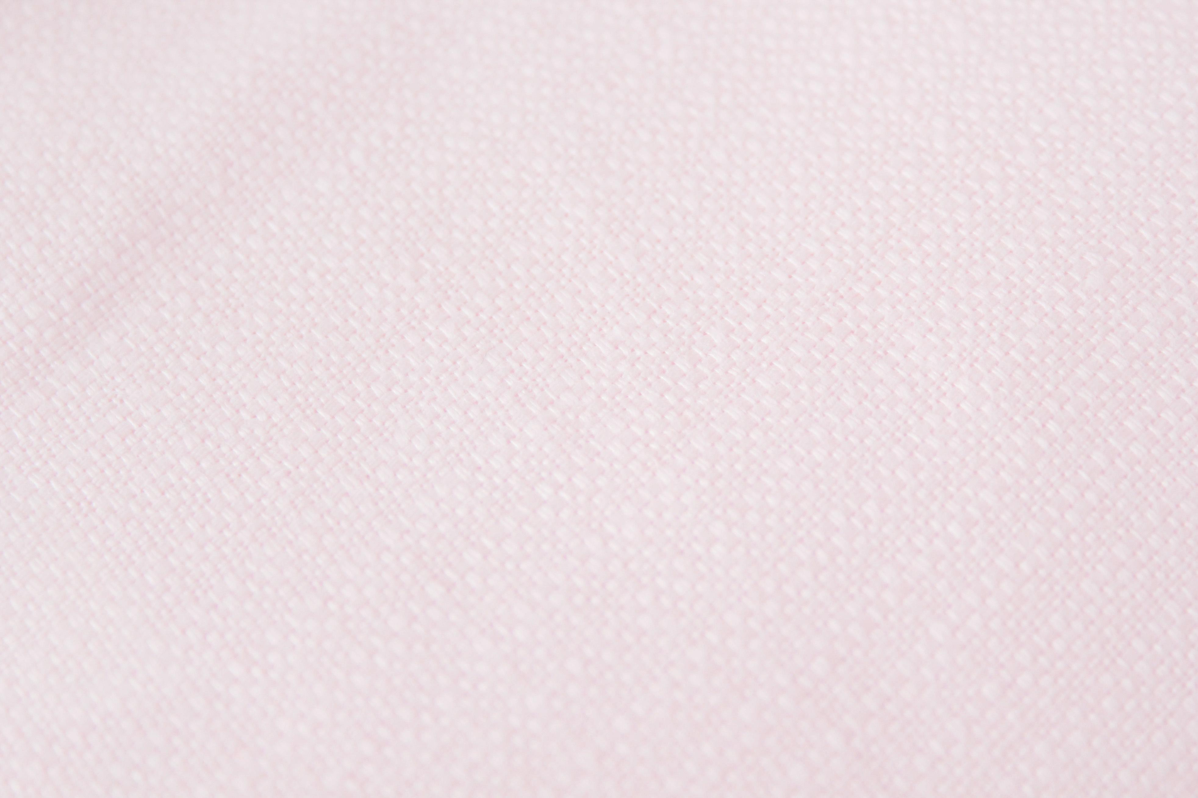 ふっくらリボンのヘアゴム(ペールピンク)