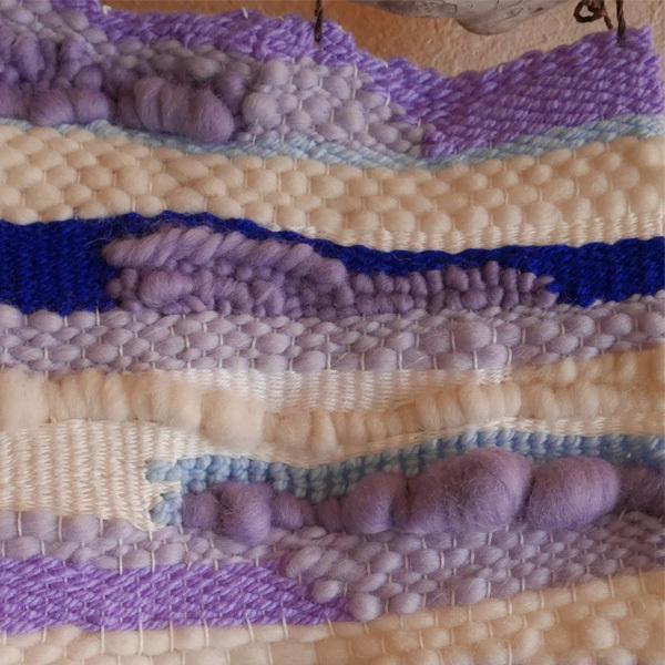 ≪オリジナル≫手織りタペストリー【海と空】