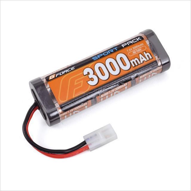 Gフォース SPORT NiMH 7.2V 3000mAh ニッケル水素バッテリー