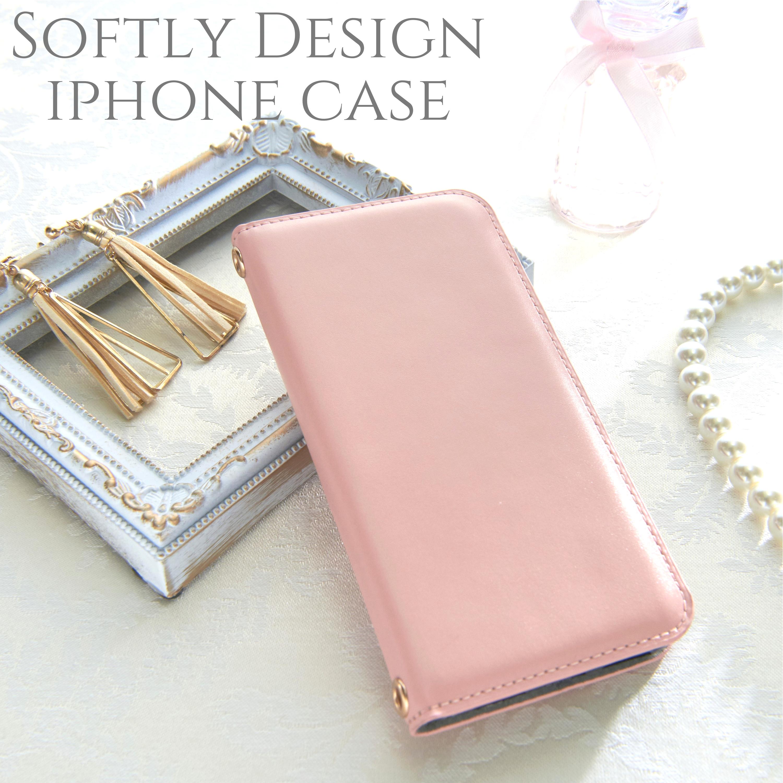 iphoneケース 手帳型 iphoneXR iphoneXs iphone8 8plus iphone6s スマホケース シンプル かわいい おしゃれ 大人可愛い スタンド レディース ペア カップル お揃い ピンク