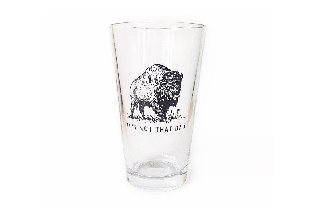 OXFORD PENNANT  Pint Glass