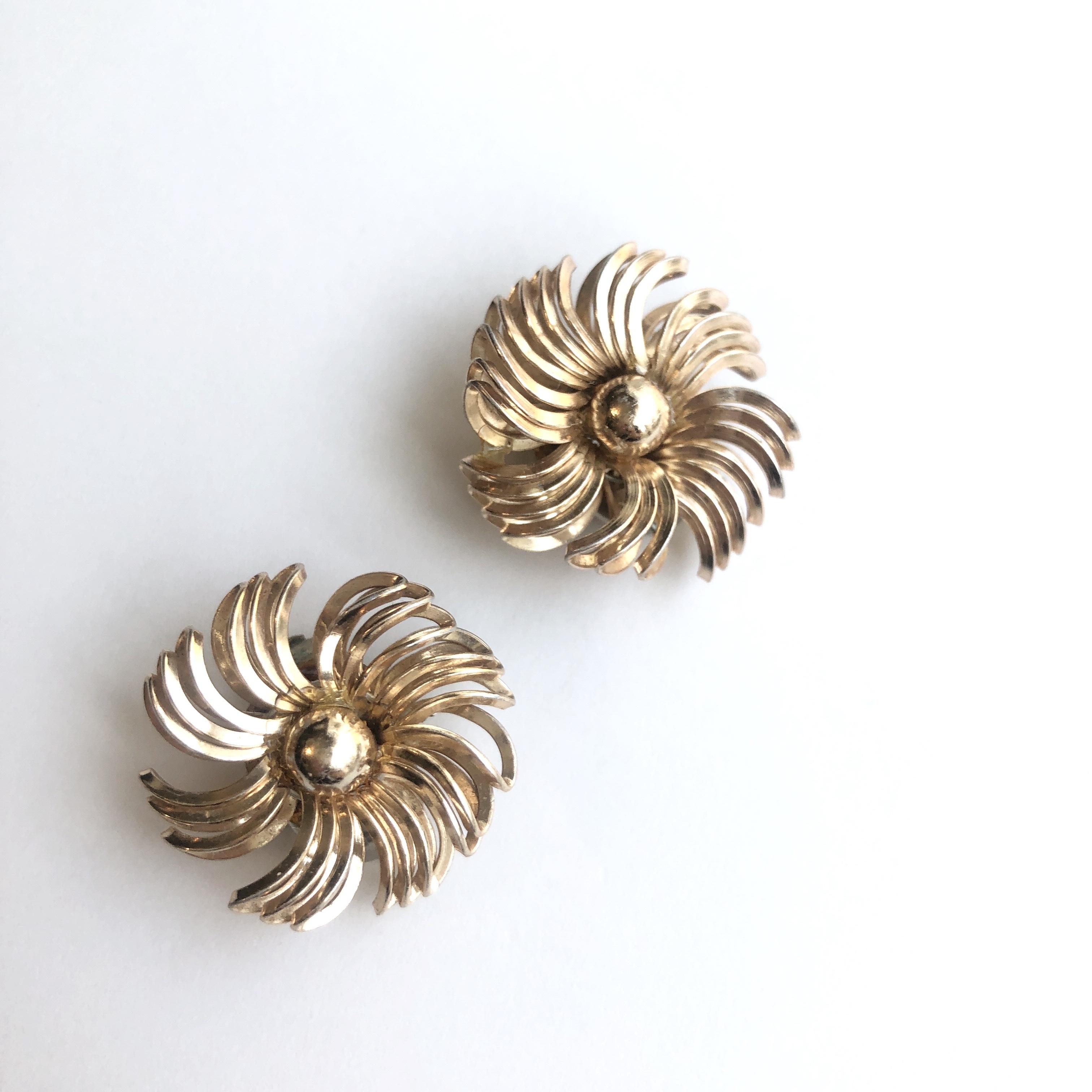Vintage earrings X-014