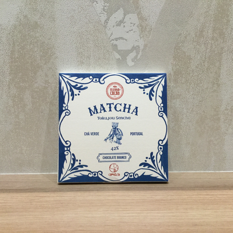 【Feitoria do Cacao/フェイトリアドカカオ】ホワイト42%+抹茶&特上煎茶