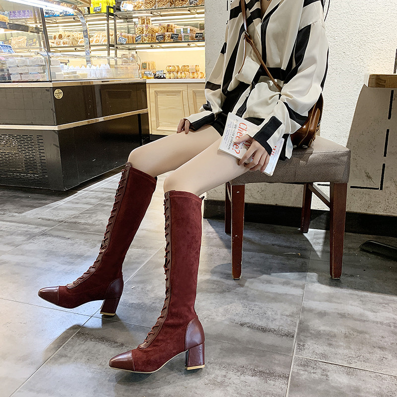 【shoes】合わせやすいファッション気質アップブーツ24830915