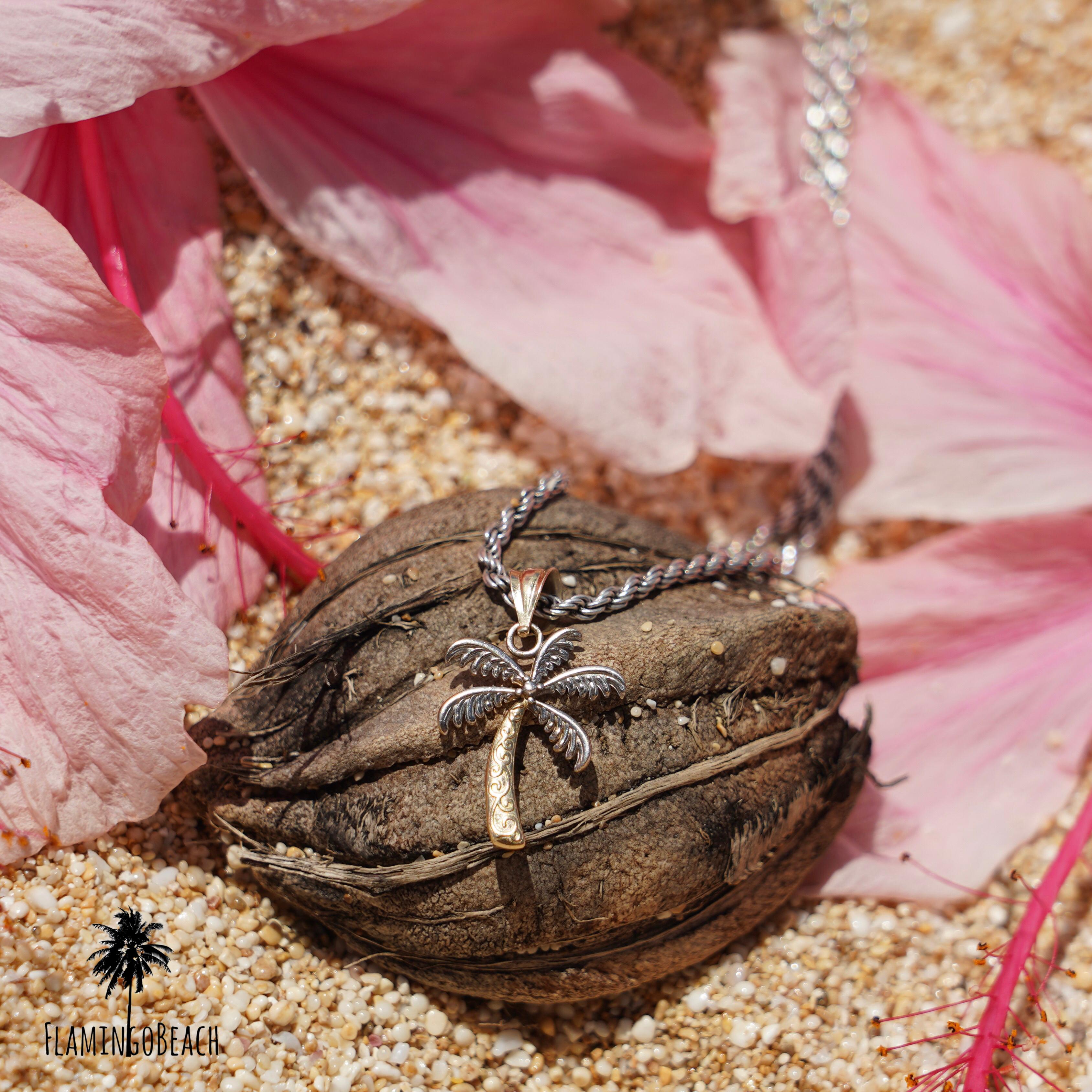 24時間限定販売【FlamingoBeach】ハワイアンジュエリー ネックレスチャーム