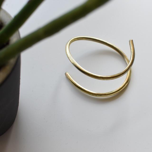 N7enunana -spring-真鍮ブレスレット