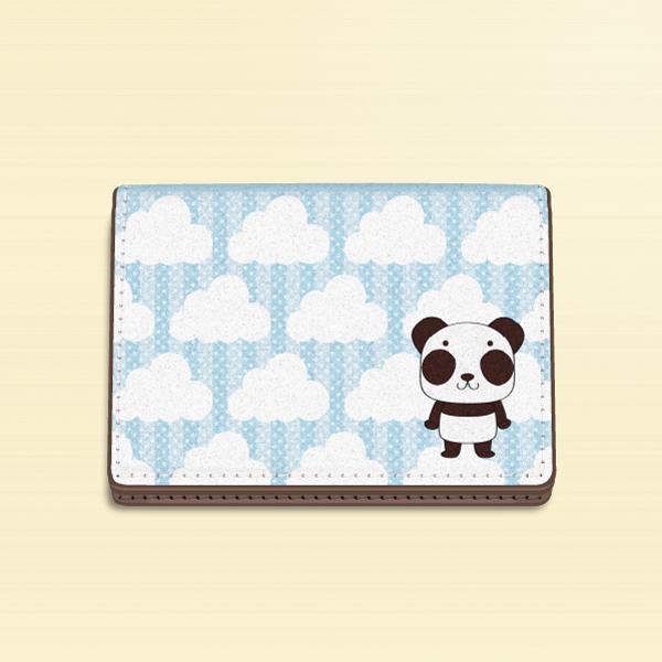 【カードケース】ズレぱんだちゃんのイチゴ雲