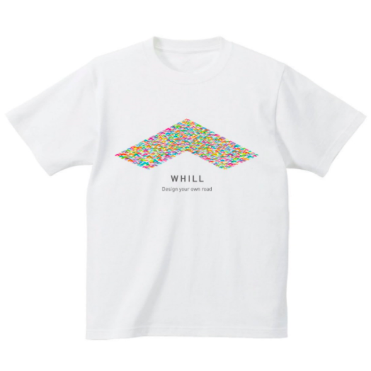 WHILLTシャツ(ホワイト)