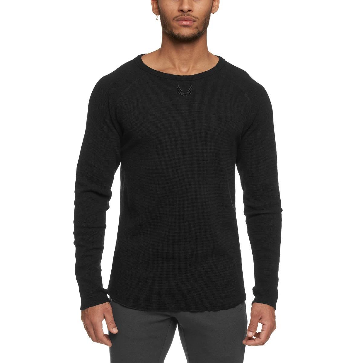 【ASRV】SilverPlus® メッシュバックロングシャツ - Black