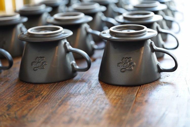 TONO dripper  shavingcup /トノドリッパーシェービングカップ マットブラック