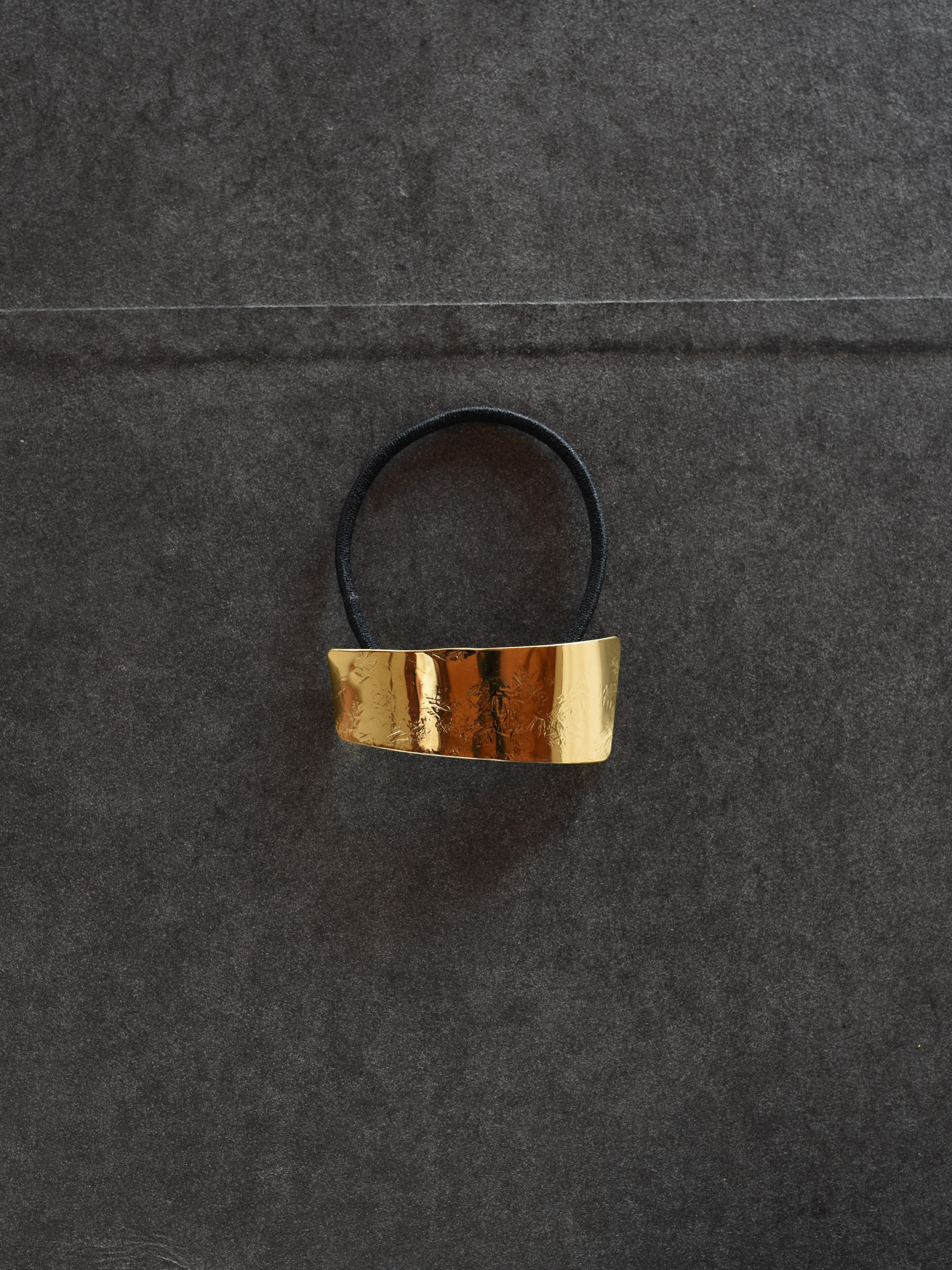 accessories mau|O-02-2 ヘアゴムbrass