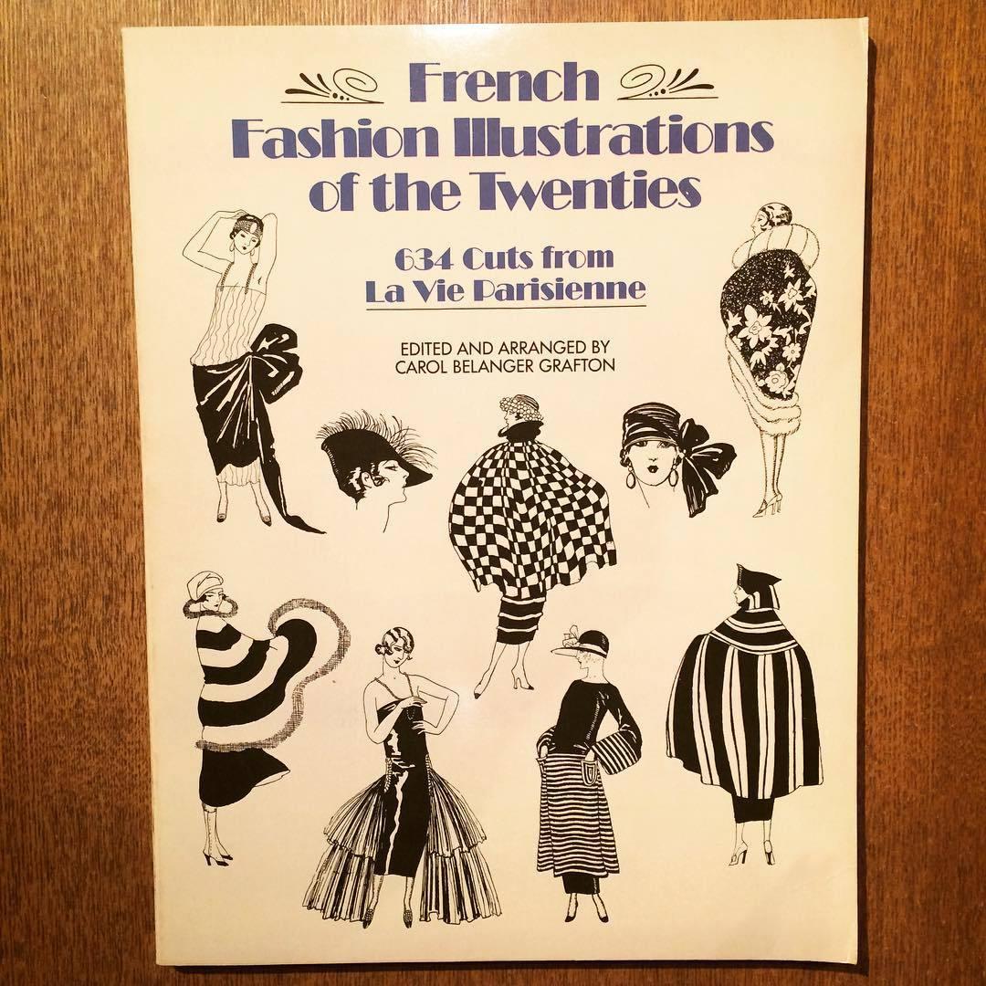 1920年代ファッションイラスト集 french fashion illustrations of the