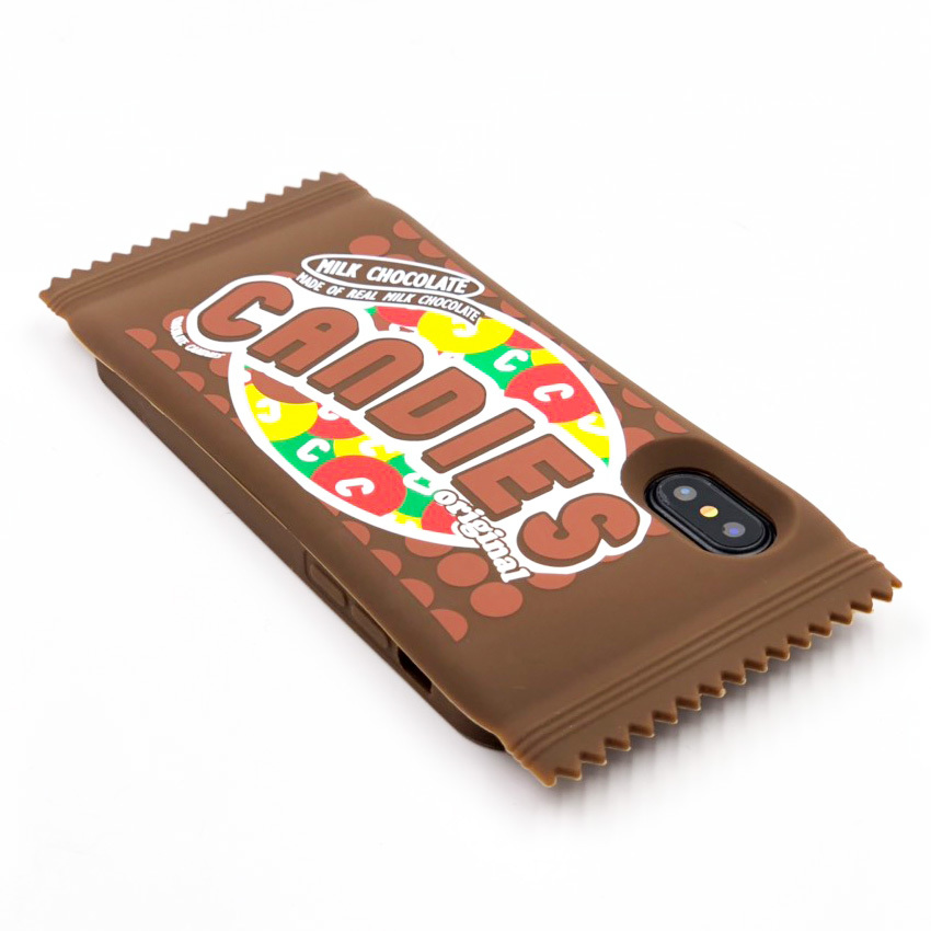 "SNACKPACK ""MILK CHOCOLATE"" for iPhoneXS/iPhoneX"