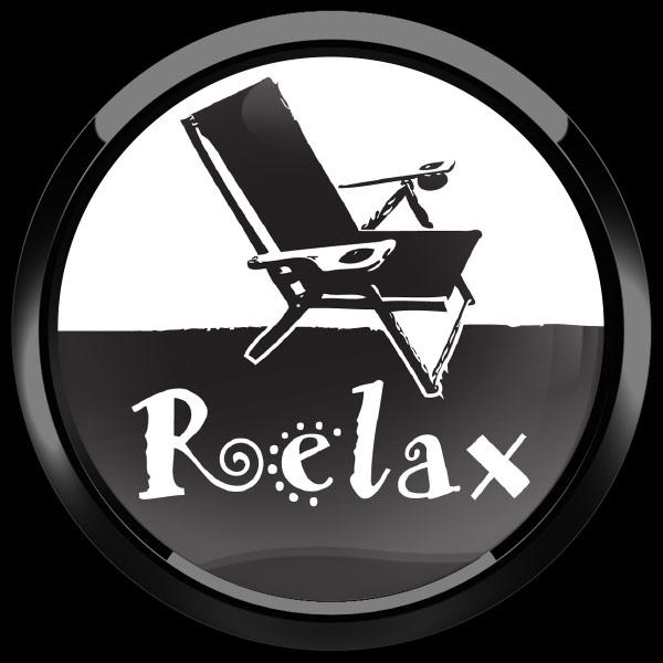 ゴーバッジ(ドーム)(CD1009 - RELAX) - 画像2
