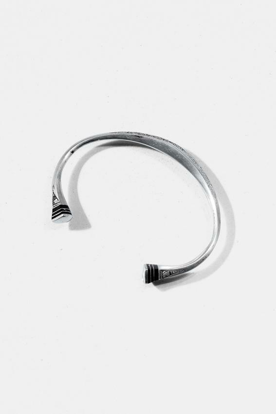 Tuareg Silver Bangle