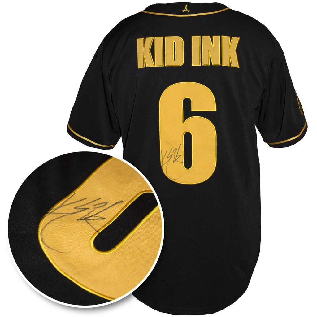KID INK SIGNED AUTHENTIC BASEBALL JER