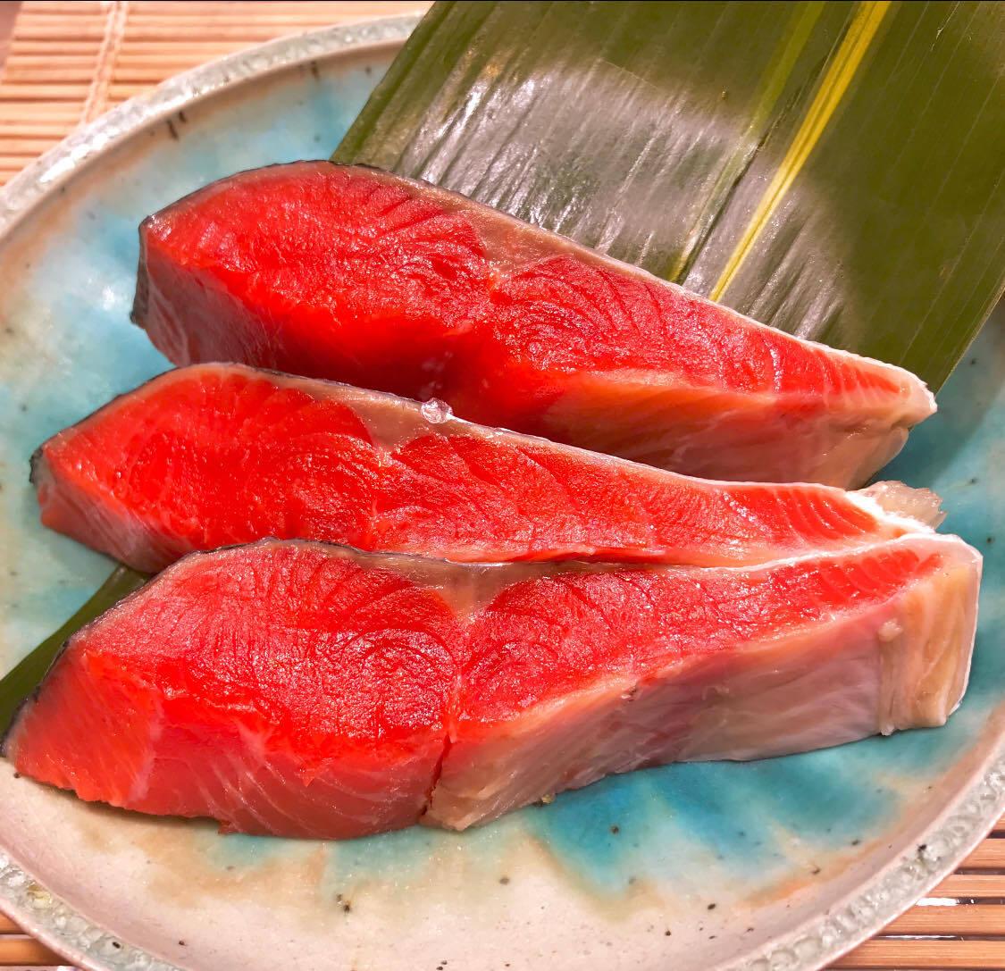 (ご自宅用)根津松本の「超希少 北海道産の紅鮭 」1切