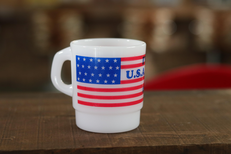 アメリカンなプラスチックマグカップ USA