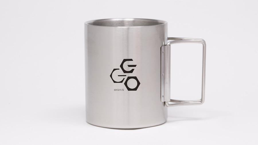 SAO オルタナティブ ガンゲイル・オンライン GGO 折りたたみステンレスマグカップ /  グルーヴガレージ
