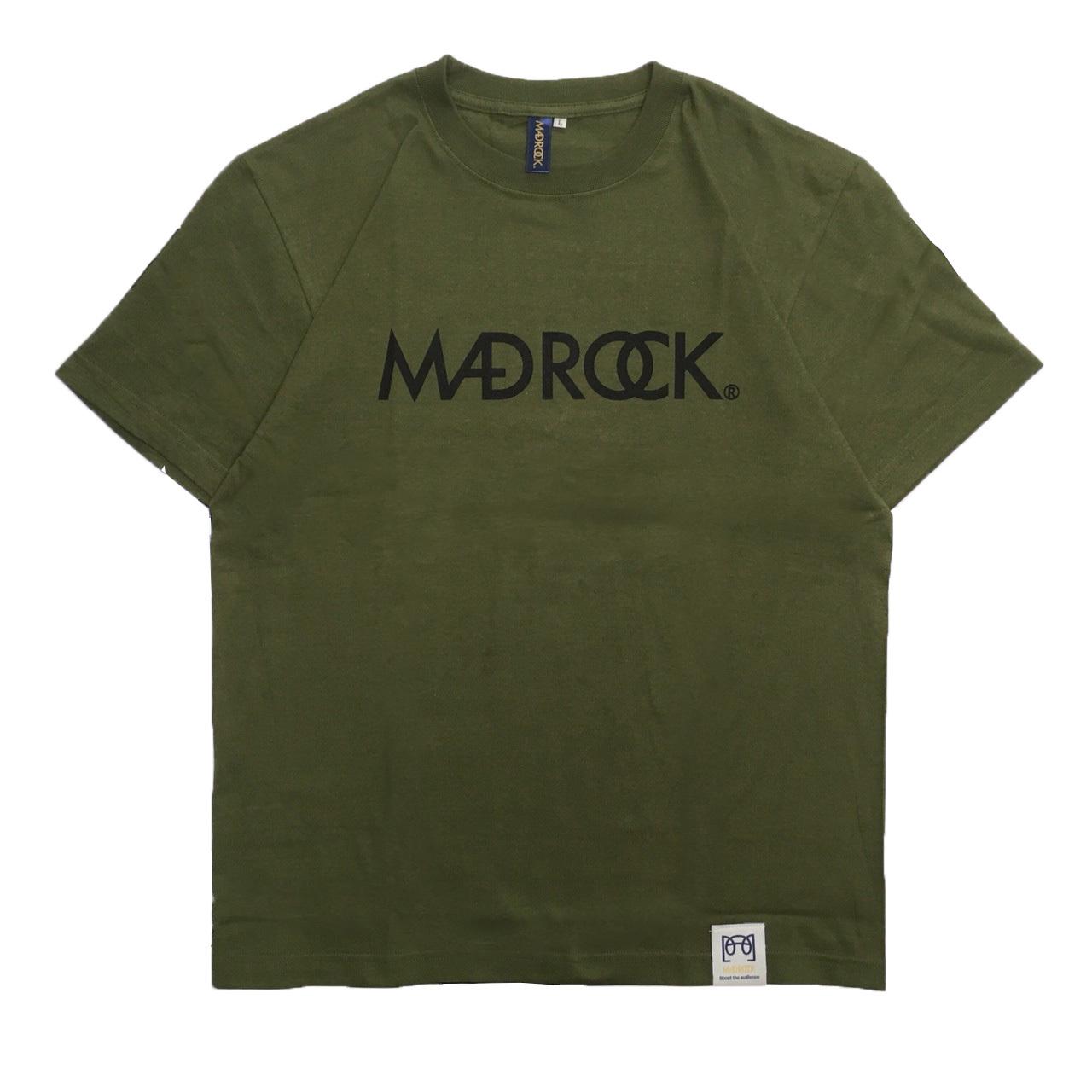 マッドロックロゴTシャツ/コットン/シティグリーン