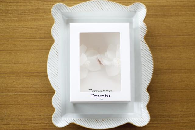 Repetto  A0099 Elastique fleur