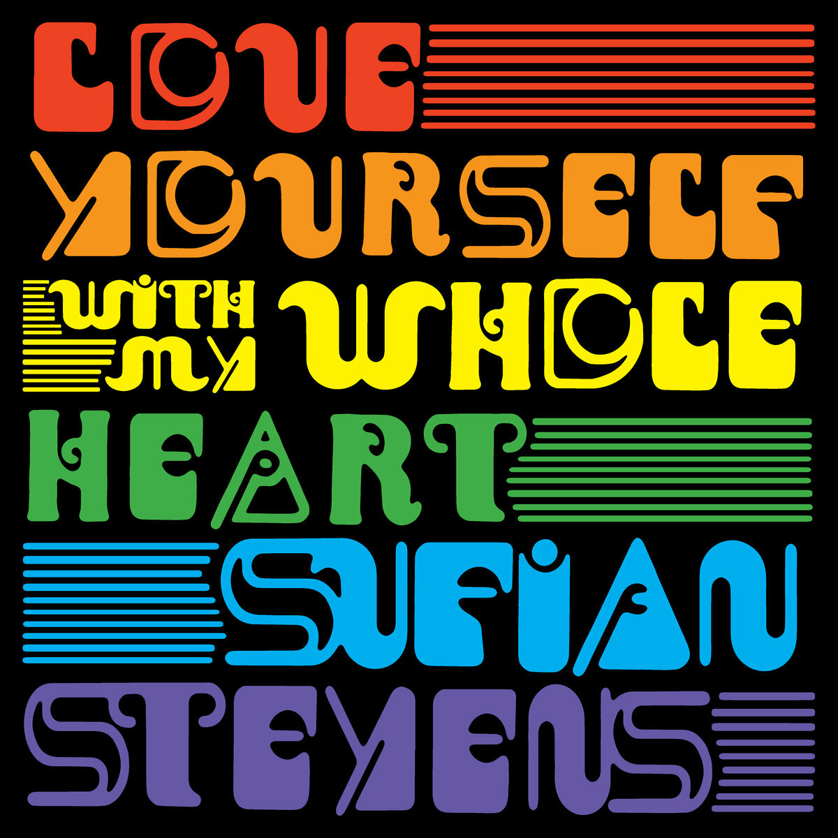 Sufjan Stevens / Love Yourself / With My Whole Heart(Ltd Random Colored 7inch)